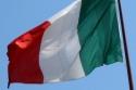 BANDIERA ITALIA CON ASTA 90X150cm