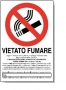 CARTELLI VIETATO FUMARE L.2004 21X29,7 CF.25PZ