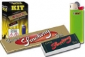 Easy kit smoking cf. 200pz(cartina oro+filtro+mini bic)