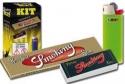 Easy kit smoking cf. 200pz(cartina oro+filtro+mini bic)