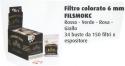 FILTRI SMOKER'S 06 MM BIANCHI-COLORATI CF. 34PZ