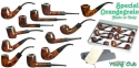 PIPE SPECIAL ORANGE GRAIN COUVETTE 12PZ